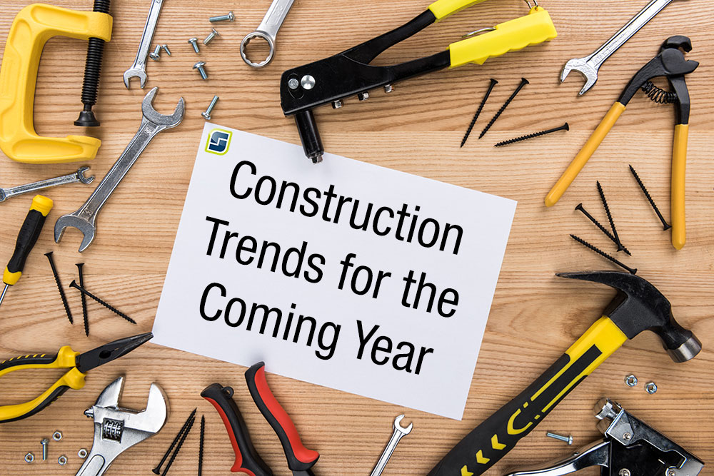Construction Trends for the Coming Year