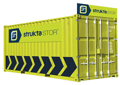 struktaSTOR | Construction Site Solution