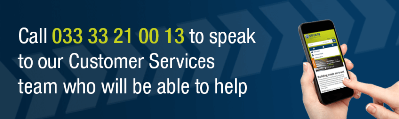 Speak to our customer services banner