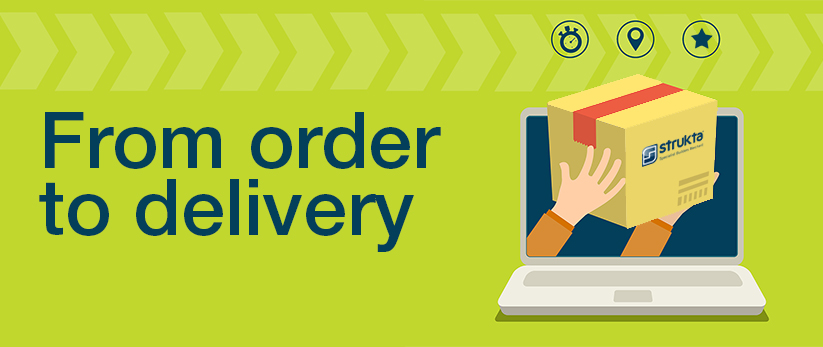 strukta from order to delivery