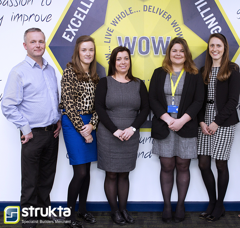 strukta's customer service team 2018